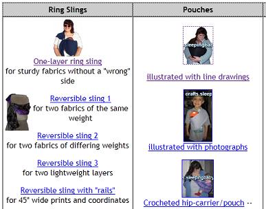 Ring Sling Breastfeeding