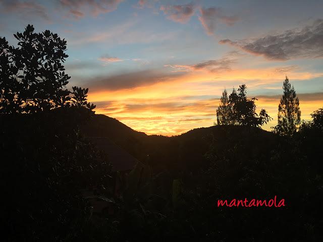 Sun set, Thailand