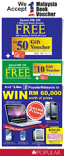 popular - FREEBIES - Spend BB1M voucher and get FREEBIES from Popular Malaysia!