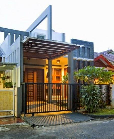 Model Door, Living Room, Trellis, windows, canopy Minimalist
