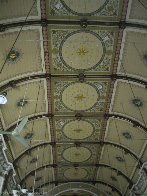 Ceiling of Kalawar Church