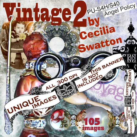 Vintage 2 collection of digital clipart
