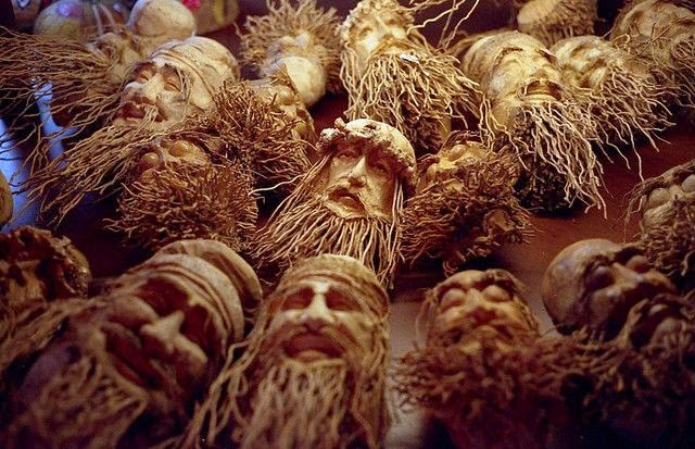 craft from bamboo root
