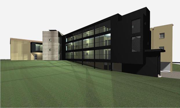 architecte p rigueux julien flahaut maison de retraite tocane. Black Bedroom Furniture Sets. Home Design Ideas