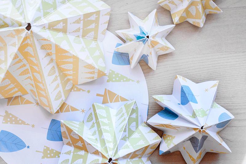 Diy: Árboles de Navidad con Escrap | Mi primera máquina de coser ...