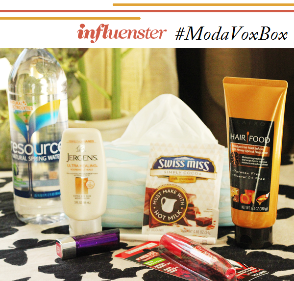 Influenster Moda Vox Box review #ModaVoxBox