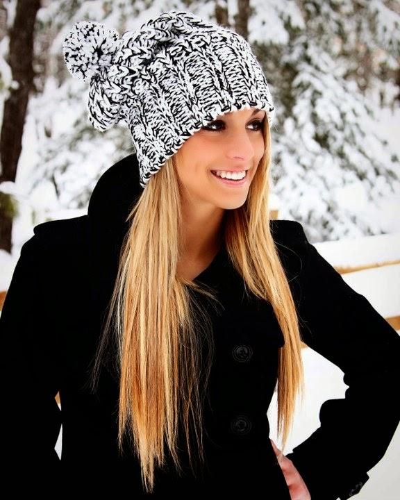 2015 Yeni Moda Bayan Örgü Bere Modelleri