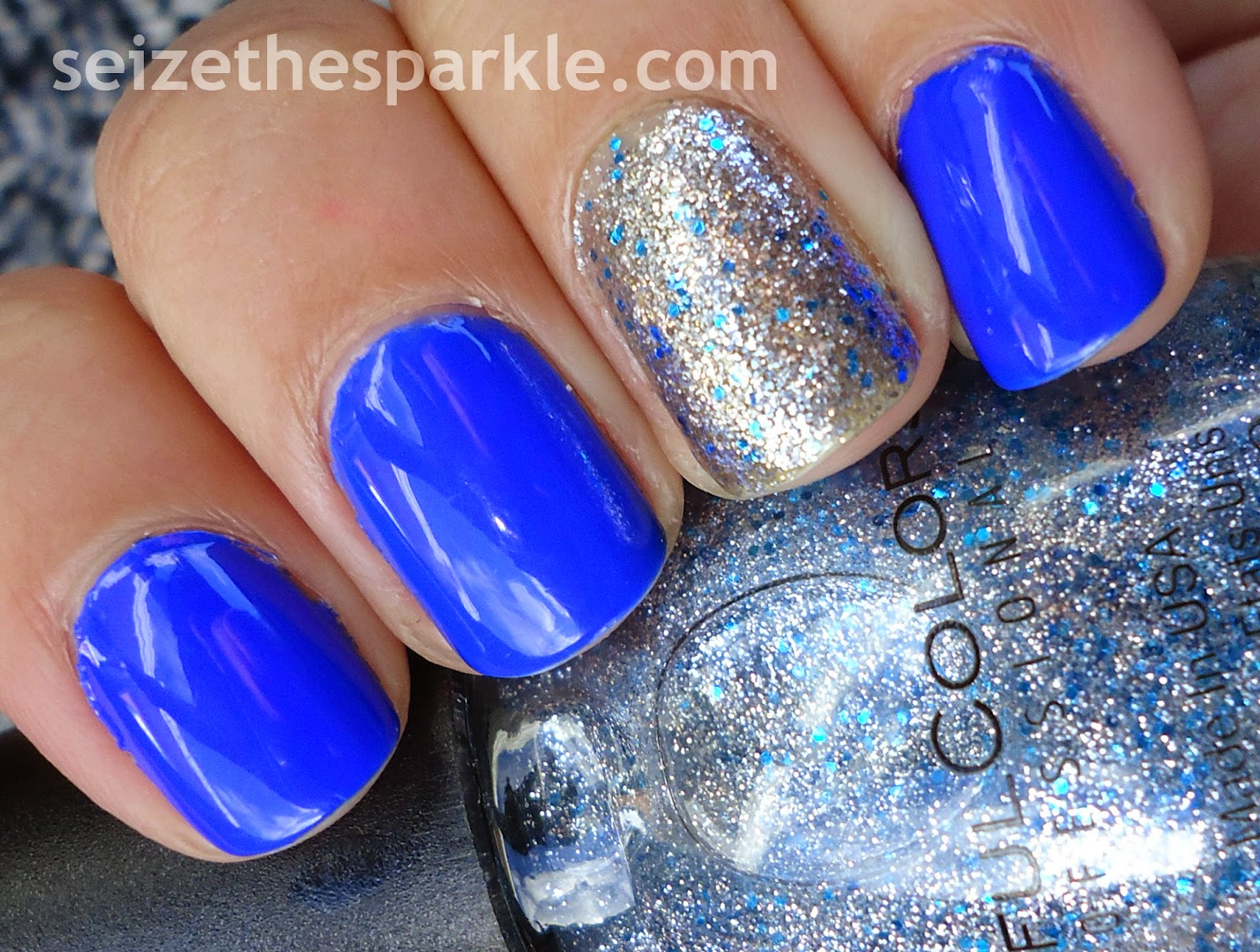 SinfulColors Ice Dream Accent Mani