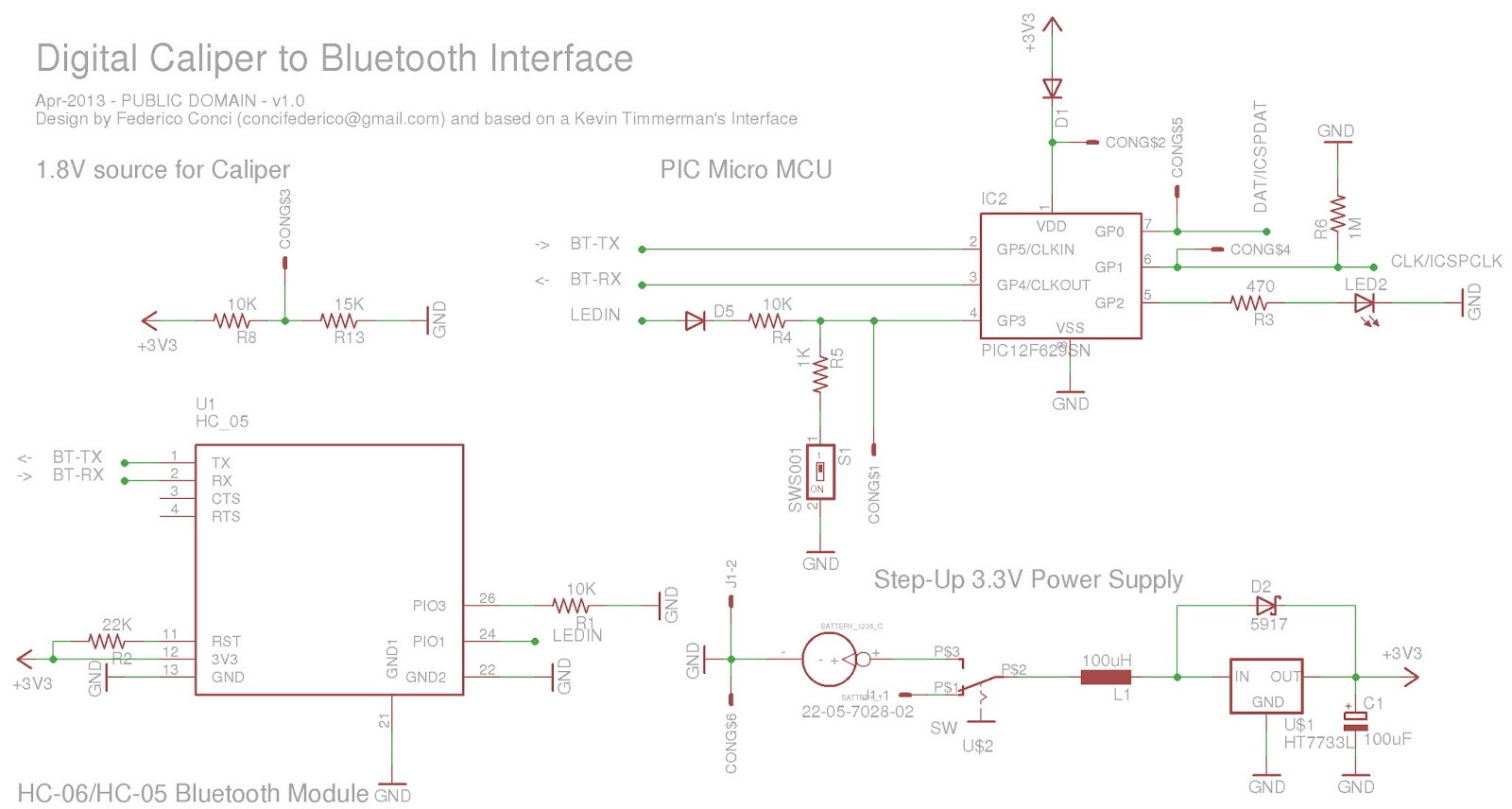Cool Digital Caliper To Bluetooth Interface Voltblog Wiring 101 Archstreekradiomeanderfmnl