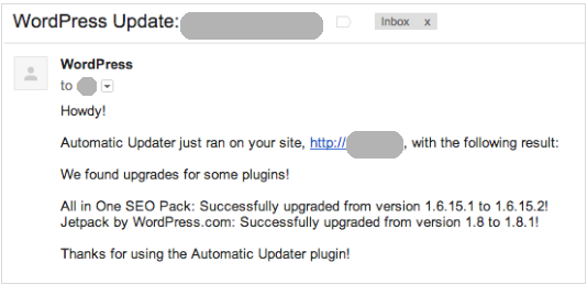 WordPress Automatic Updates ... but fully automatic