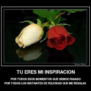 Frases De Amor: Tu Eres Mi Inspiración Por Todos Esos Momentos Que Hemos Pasado