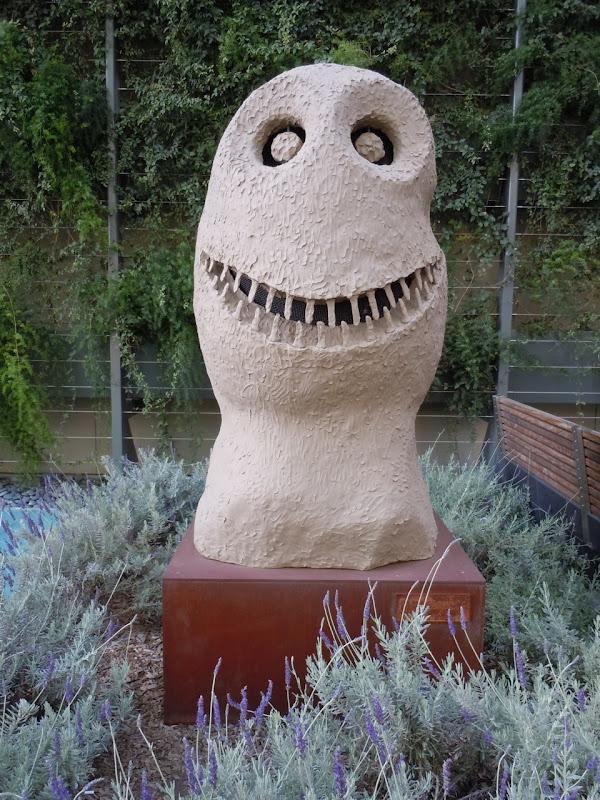 March Moonrise sculpture Ugo Rondinone
