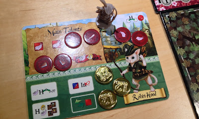 12 Realms board game review Robin Hood