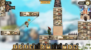 Screenshots of the Treasure rush for Android tablet, phone.