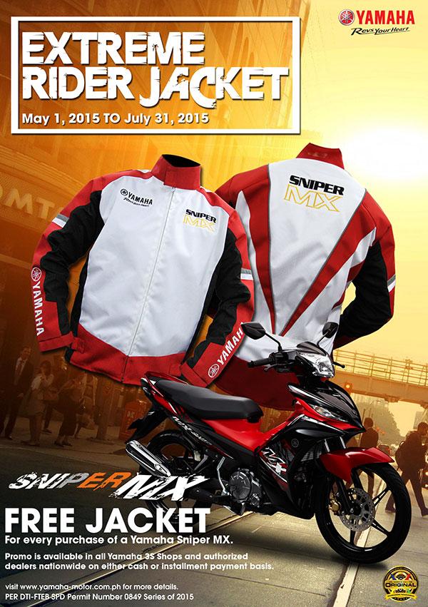 Yamaha Sniper MX Extreme Rider Jacket Promo