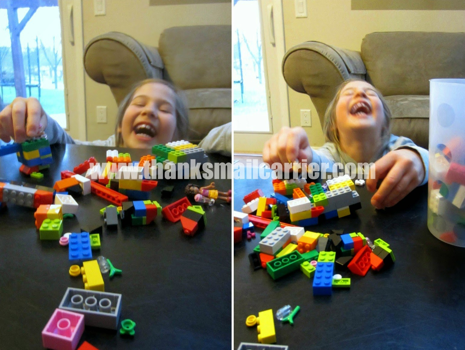 lego laughing
