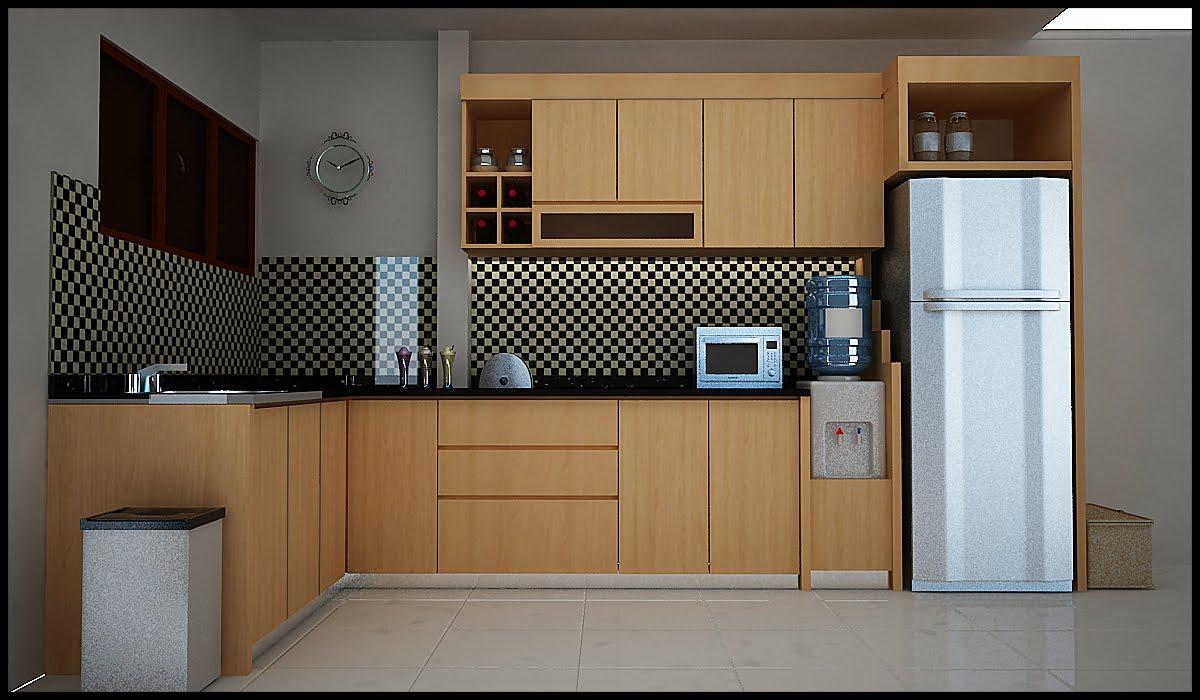 Desain interior dapur rumah modern terbaru 2016 for Kitchen dapur
