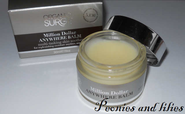 Organic surge million dollar anywhere balm
