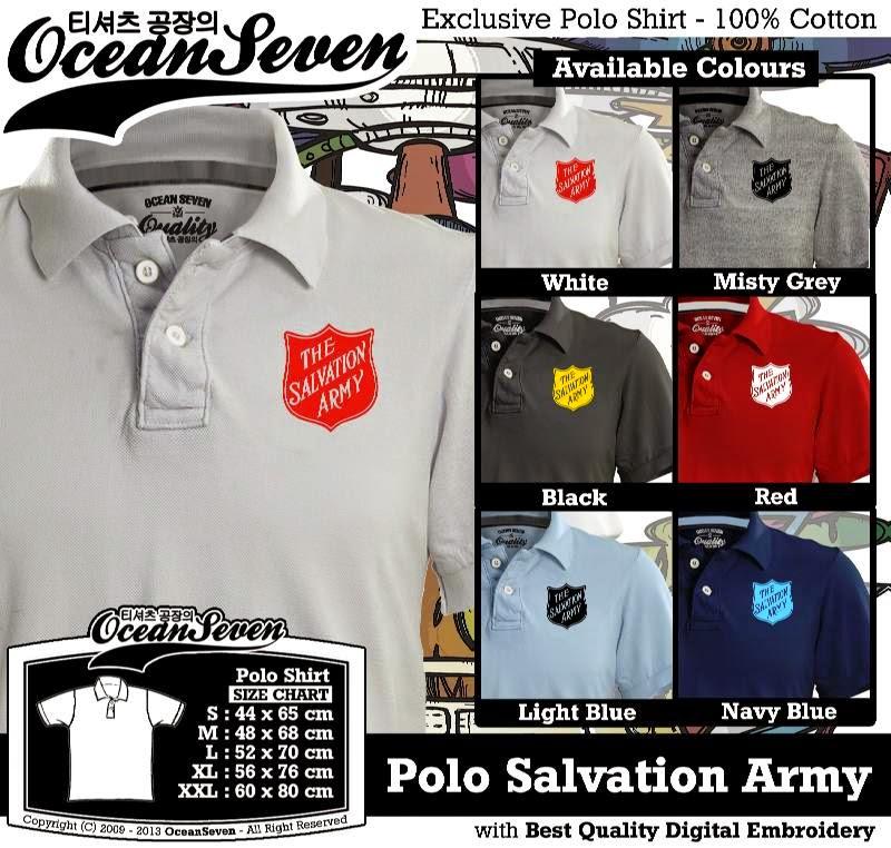Kaos Polo Salvation Army