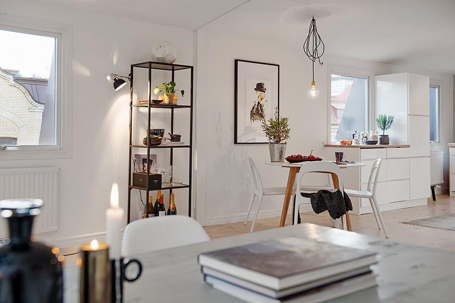 my scandinavian home A light and bright Gothenburg home -> Kuchnia Jaka Tapeta