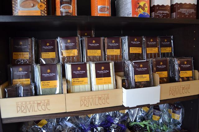 Tablettes Chocolats Privilège