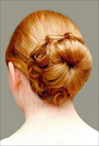 elegant bun hairstyles. Bun Hair Styles -Fantastic