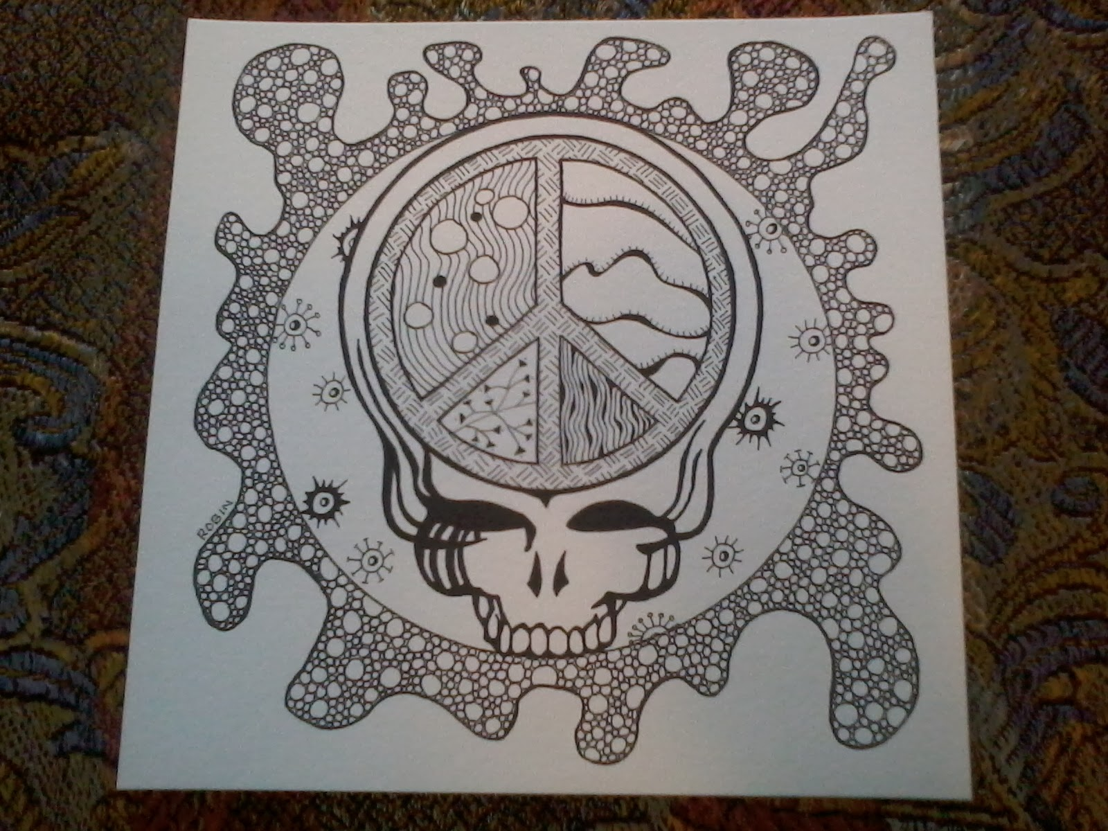 the mess that is my life january 2014 - Grateful Dead Coloring Book