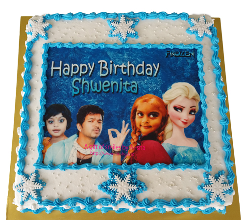 Birthday Cake Disney Frozen