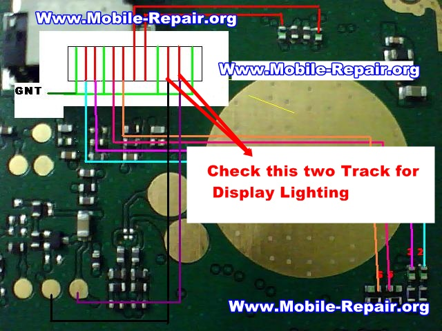 Nokia 100 Display Lighing Problem