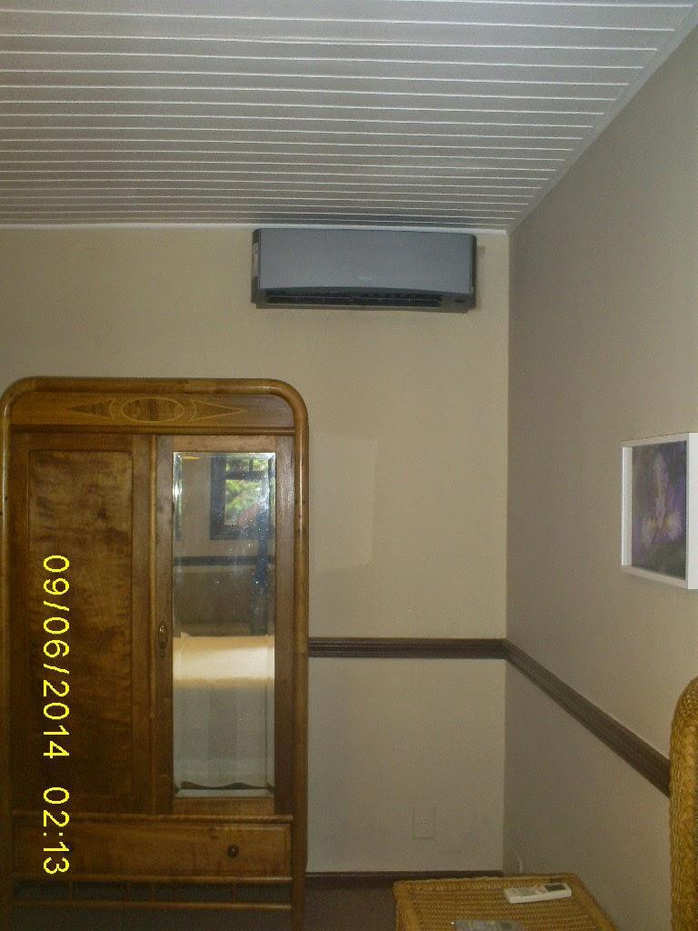 Instalação do equipamento Consul 12.000 BTU