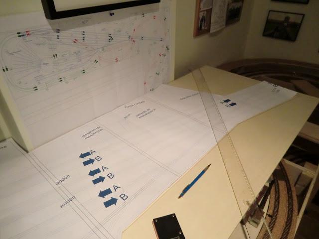 construccion estacion principal escala n maqueta planos