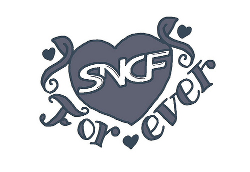 Tatouage Logo SNCF For Ever