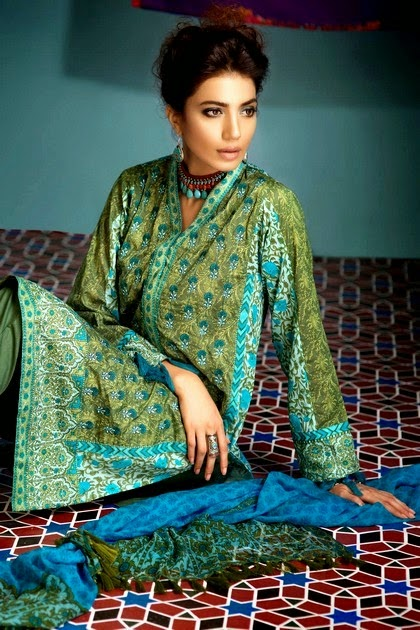Volume-2 of Khaadi Lawn Unstitched Collection 2014
