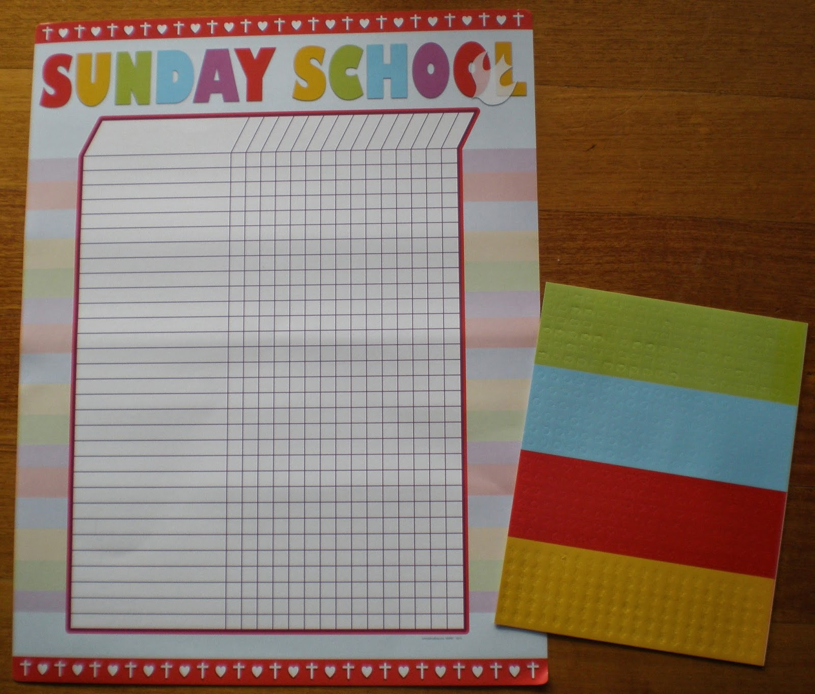 Petersham Bible Book & Tract Depot: Sunday School Attendance Sticker ...