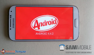 samsung galaxy s4 ve note 3 android kitkat