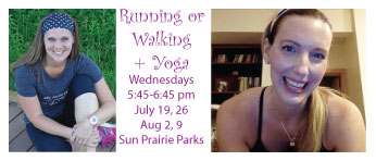 Running or Walking + Yoga