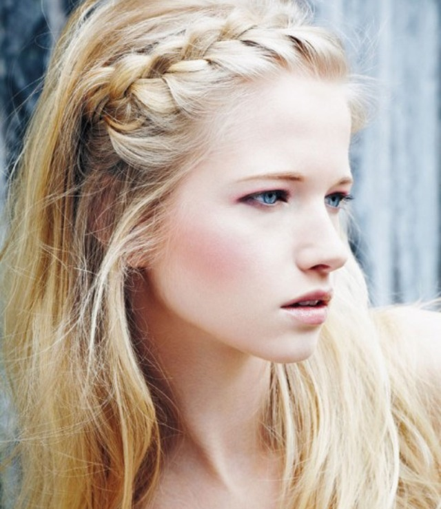 Easy New Fold Up Braids Hairstyles For Girls