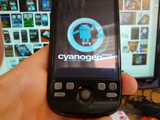 ROM de Cyanoget cargando en mi HTC Magic
