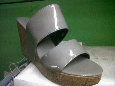 Aneka model sepatu sandal wanita murah,sandal wanita model Grey