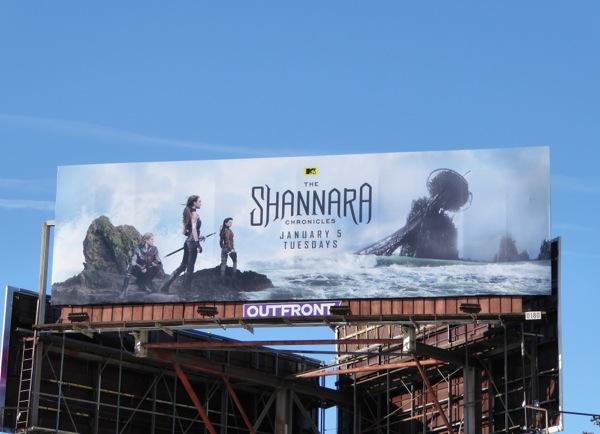 Shannara Chronicles MTV series billboard