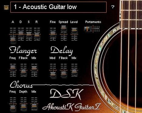 DSK AkoustiK GuitarZ - Plugins VST Free