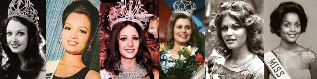 Misses Universo: 72, 73, 74, 75, 76 e 77