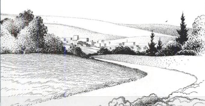 Dibujo de 'Silent Spring' de Rachel Carson. Imagen de Marcellus
