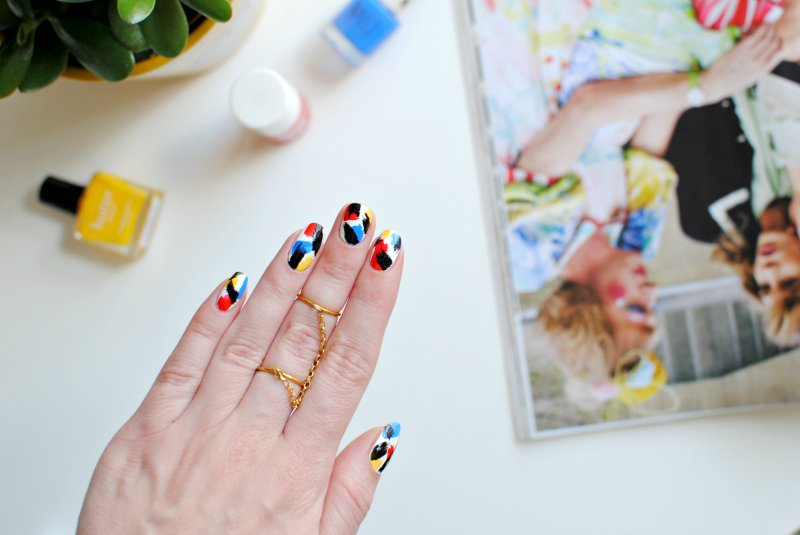 Nails Pop Art Nail Art Tutorial Burkatron