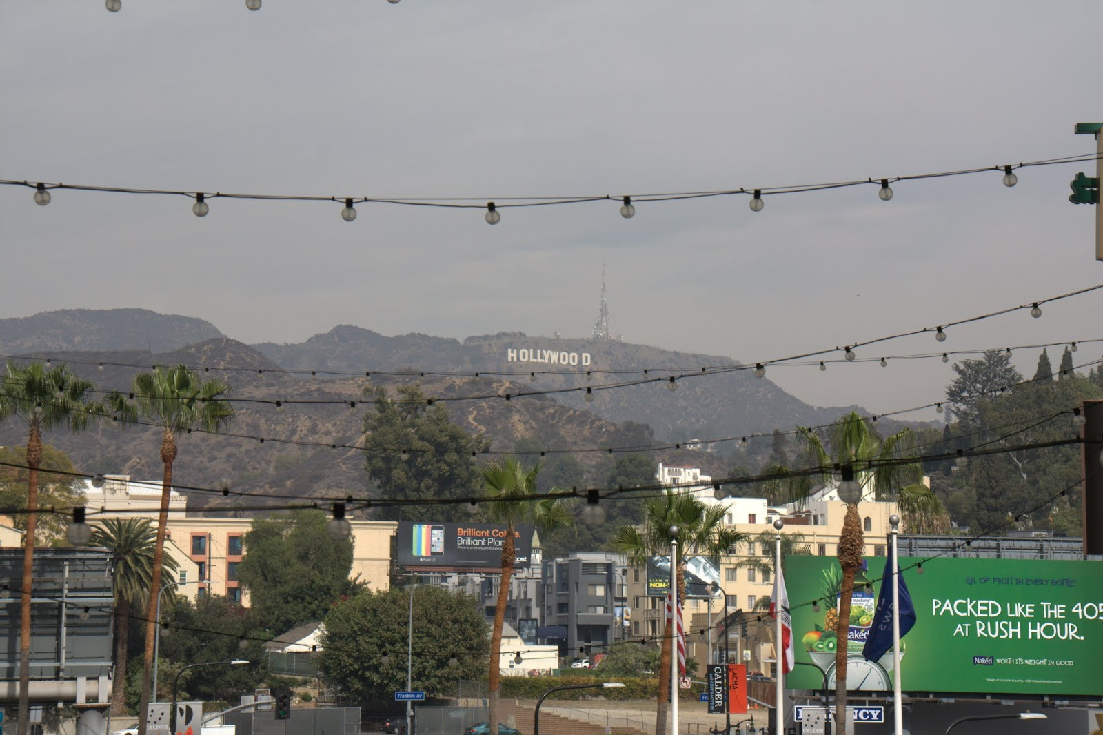 Hollywood sign, as seen from Hollywood