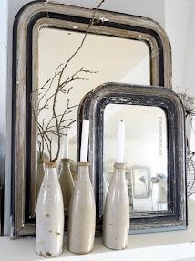 antike Spiegel aus Frankreich