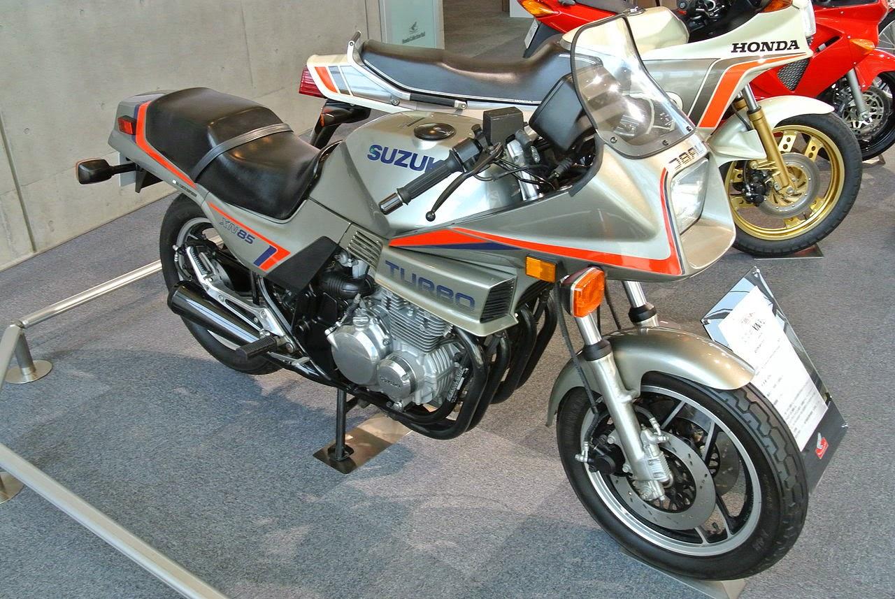 1983 Suzuki XN85D Turbo