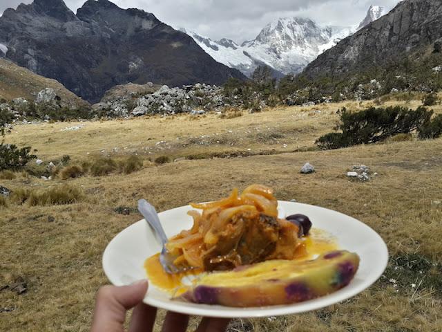 Almoço na trilha