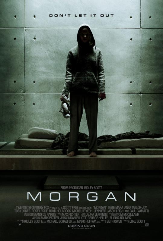 Nonton Morgan (2016)