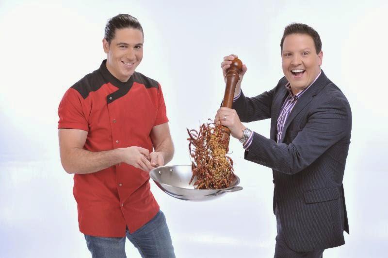 Raúl González y Chef James Tahhan anuncian apertura de 'Sabores by Chef James'